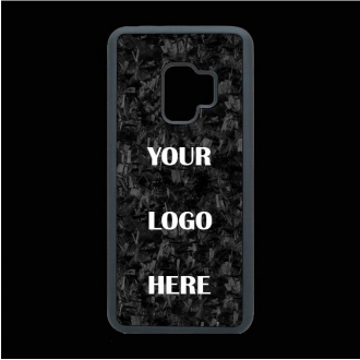 Iphone and Samsung personalized forged carbon case